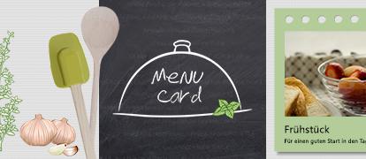 Menu Card App