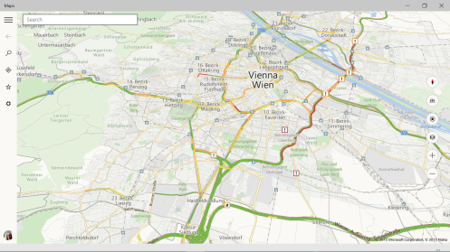 Maps App for Windows 10, preview