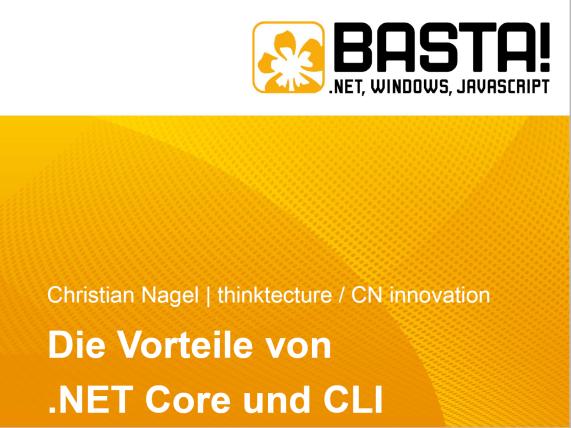 .NET Core und CLI